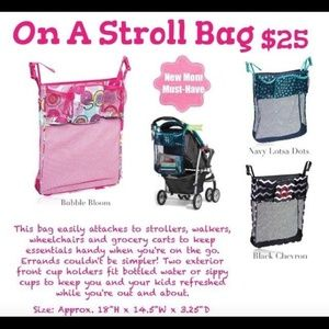 thirty-one Bags - Thirty One On a Stroll Stroller Bag Bubble Bloom